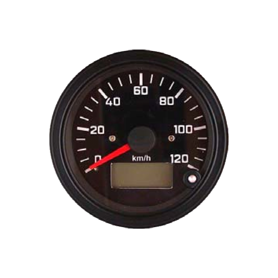 Speedometer with LCD odometer Top Line