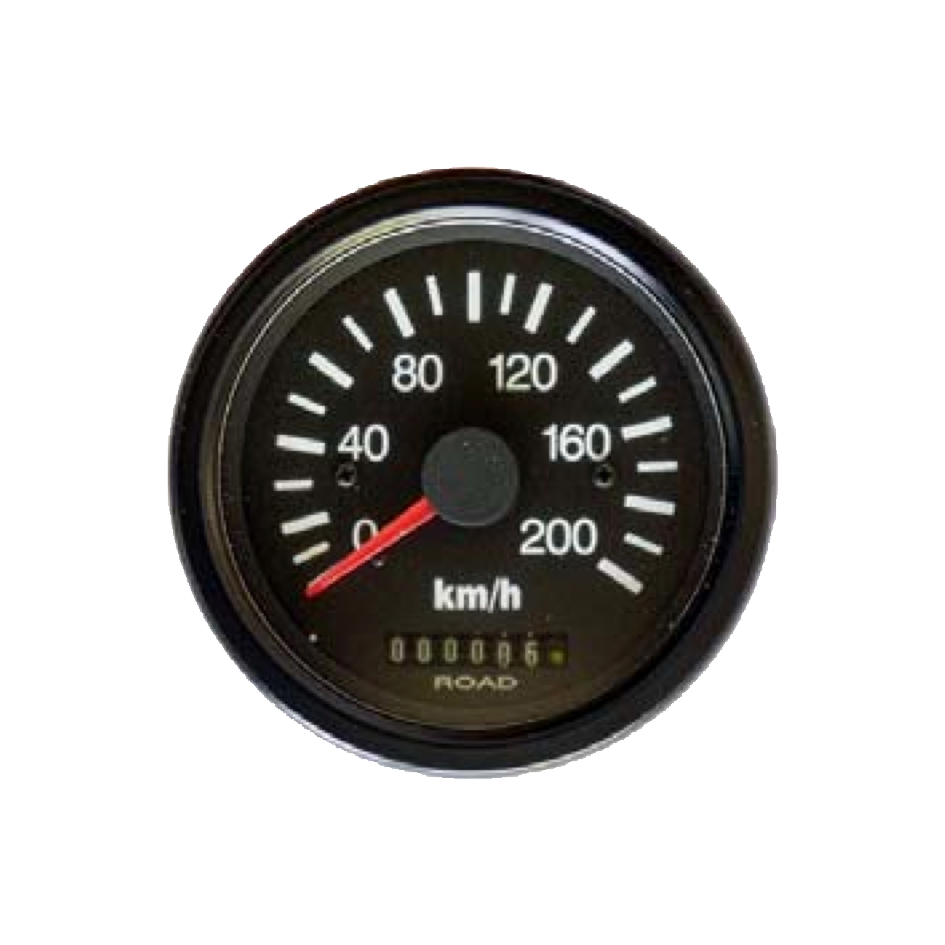 Speedometer with odometer Top Line
