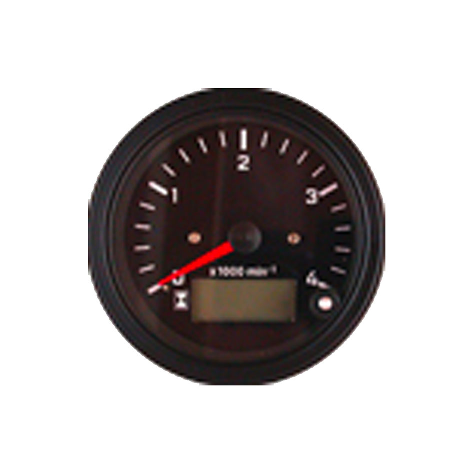 Tachometer with LCD hourmeter Classic Line