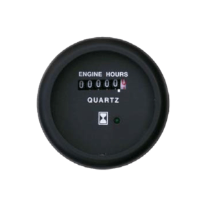 Hourmeter Marine line double glass anti-fog system, plastic housing