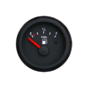 Fuel level gauge Marine line double glass anti-fog system, plastic housing