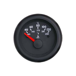 Temperature gauge Marine line double glass anti-fog system, plastic housing