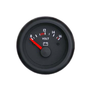 Voltmeter Marine line double glass anti-fog system, plastic housing