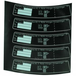 Type sticker 1318-24