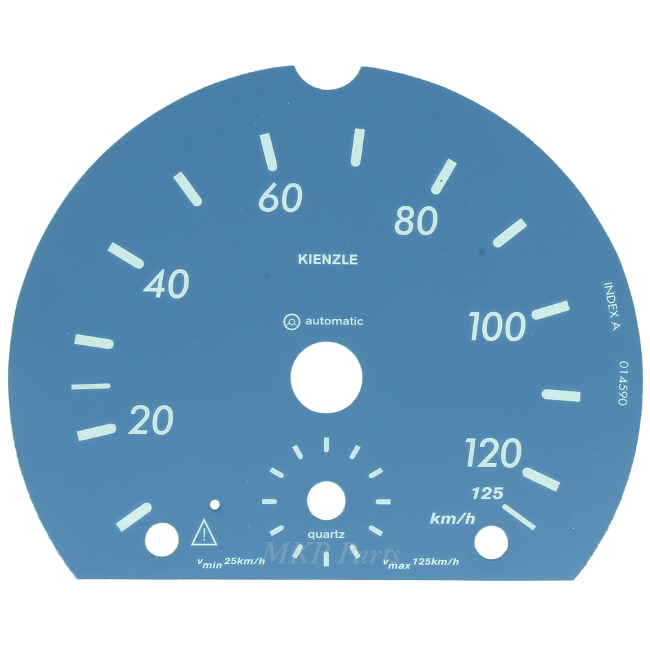 Face 125 km/h Blue for Atego