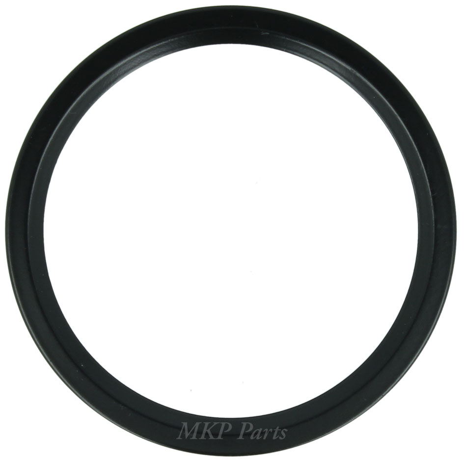 Bezel Flat Black Round 80 mm