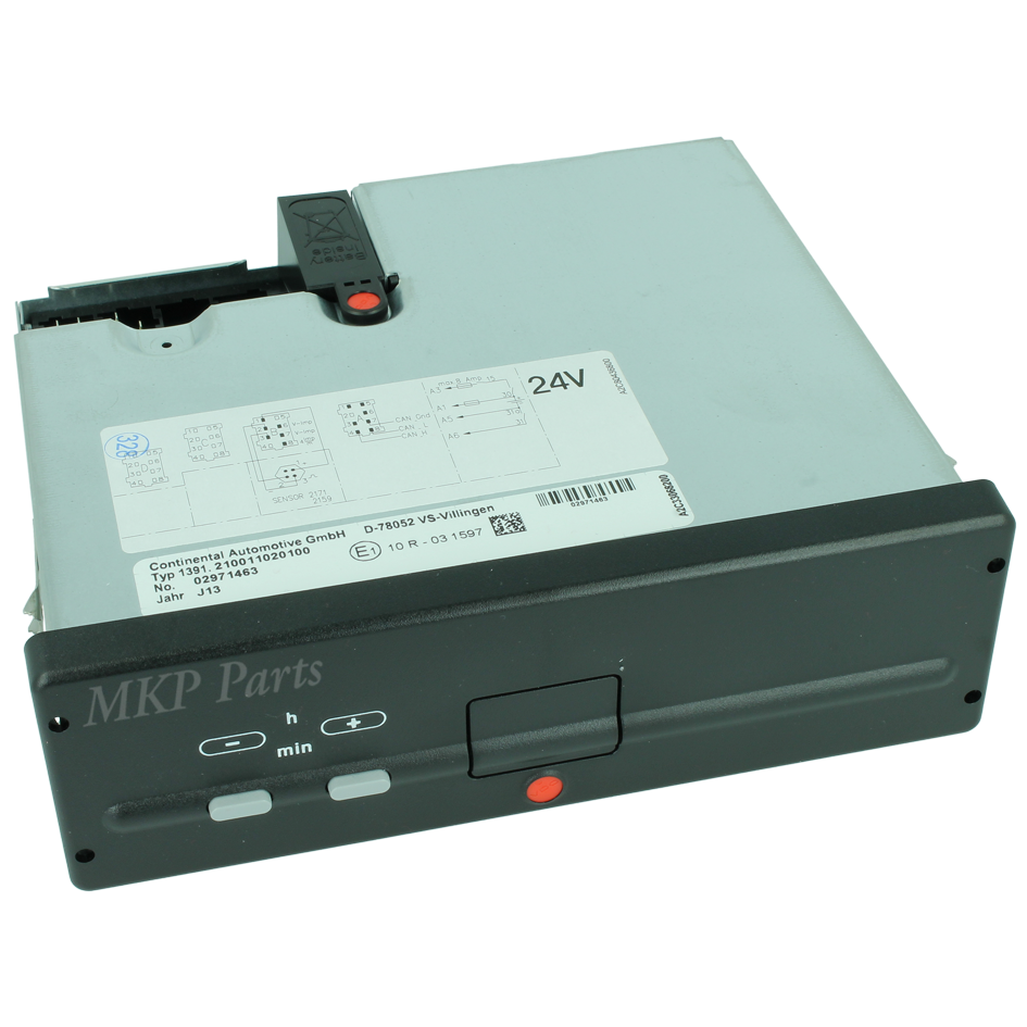 Dummy tachograph TSU