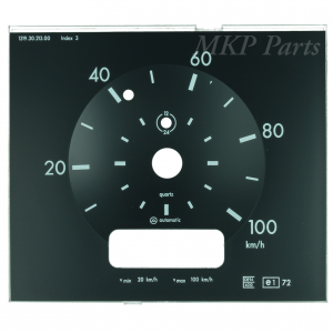 100 km/h Dial Actros