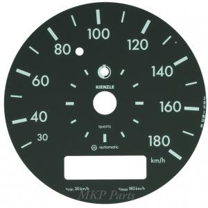 180 km/h Dial