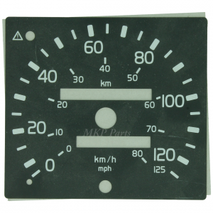 Dial 125 km/h mph EGK 100