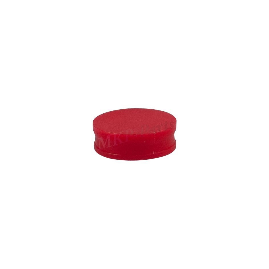 Plastic seal red