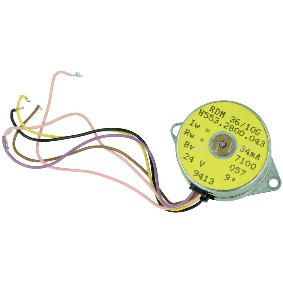Exchange AEG motor for counter 12V and 24V