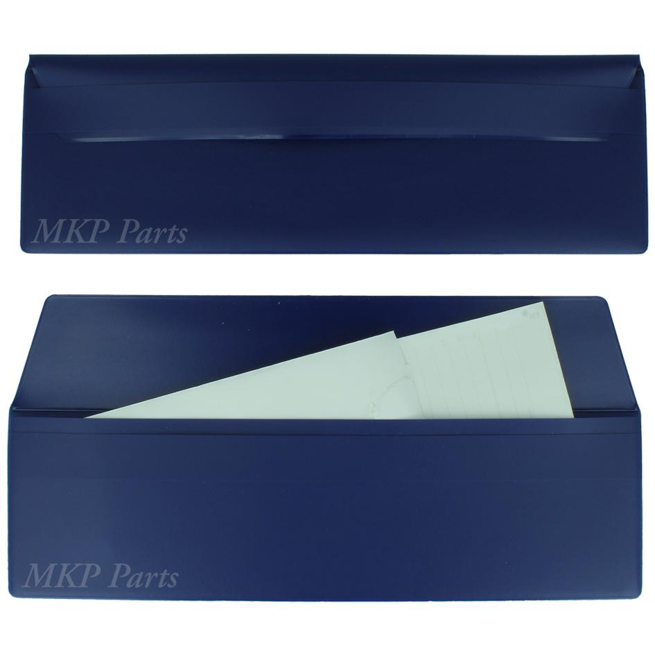 Driver wallet pocket for themopaper color blue