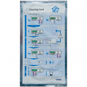 6x Cleaning cards for DTCO + 6x cleaning cloths for cards