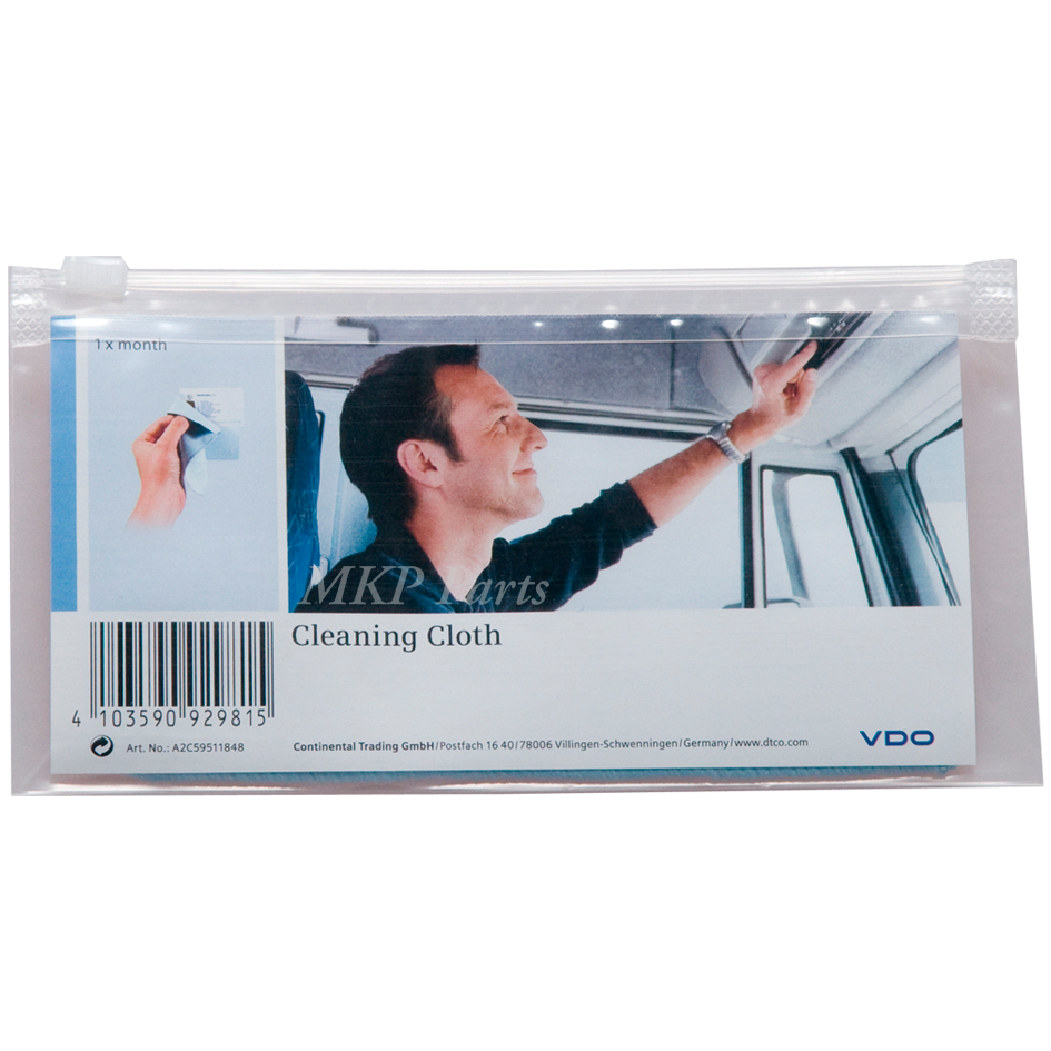 DTCO cleaning cloths for cards