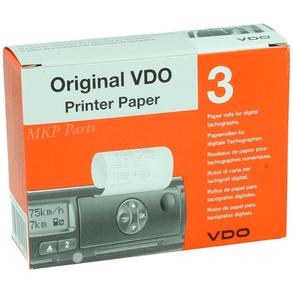 VDO Tachograph Charts